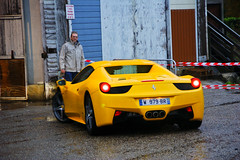 Il migliore (2KP) Tags: auto france cars car st yellow spider jean bordeaux ferrari voiture giallo autos voitures aquitaine 458 2011 gironde tlthon dillac