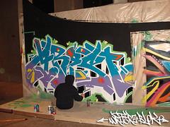 arest_2 (WSTECH) Tags: fineart aerosolart graffitiart wildstyle izze sandiegomuseumofart writerzblok jcni dazeroc wstcrew izzewst saratogasake dazewst arest150 wildstyletechncians jacobscenterforneighborhoodinnovation
