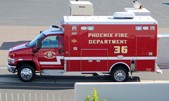 Phoenix Fire Department Rescue 36 (ChrisK48) Tags: pfd dvt phoenixaz kdvt phoenixfd phoenixfiredepartment phoenixdeervalleyairport 931026 rescue36