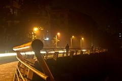 Dhaka at night (  ) (Asif Adnan Shajal) Tags: life city bridge light summer night canon photography photo asia day photographer citylife dhaka 1855mm bangladesh asif bangla adnan bangladeshi banani gulshan   saarc  dhakabangladesh shajal   1000d    gulshanbridge  asifadnanshajal bangladeshflickr asifadnan  gulsanbridge  dhakaflickr shajalmahmud riverdhaka