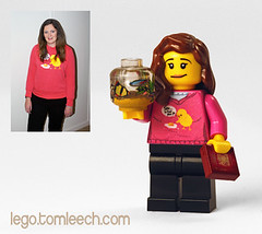 Miss K (tomleech) Tags: fish chicken hoodie tank lego egg mini bowl chick figure minifig custom passport