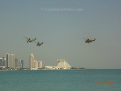 Rehearsal of Qatar National Day 17-12-2011 (Feras.Qadora2421) Tags: december day force air national corniche 18 doha qatar   2011                  qeaf rehealsal rehealsals