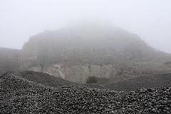 . (Manuel Ceballos) Tags: mist mountain tree fog stone arbol mina montaa niebla cantera piedra manuelceballos