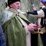 Tweeting at Stonehenge - Winter Solstice 2011