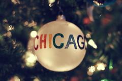 Happy Holidays (vonderauvisuals) Tags: christmas xmas holiday chicago tree glitter bulb 50mm lights rainbow bokeh 14 f colored glowing visuals multi orniment chicagoist gliter vonderau ordiment vonderauvisualscom