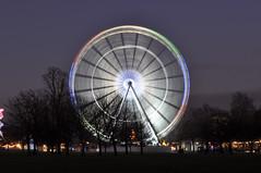 Gira La Ruota (Lapatia) Tags: park winter london wheel ferris hyde panoramica londres hydepark wonderland londra ruota ruotapanoramica wonderlandferris