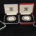 3041. (4) UK 1992 - 1993 Silver Proof Coins