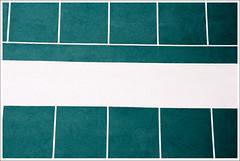 (Hidetora) Tags: urban white abstract detail muro verde green lines architecture pattern geometry minimalism astratto bianco minimalist architettura muri astratta geometrie minimalista linee urbanfragments urbanfragment urbani hidetora