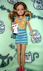Stacie! (Ayla160 >^..^<) Tags: new pet cute modern cat stacie kitten doll barbie freckles littlesister middlesister