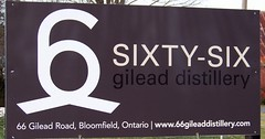 66 Gilead Distillery (Will S.) Tags: signs ontario canada sign barn spirits whisky vodka rum di