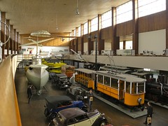 Zagreb Technical Museum (JasonParis) Tags: cars train boat croatia tram zagreb transportation technical streetcar technicalmuseum hrvatska