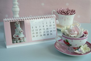 Desk top calendars by Cotton and Crumbs