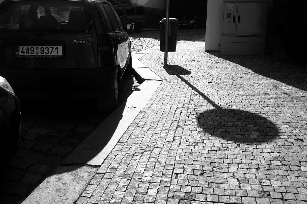 Praha b/w