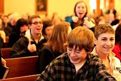 We are in church - Jeeez (lifeinmyzoo) Tags: christmas family holiday hanukkah hanukkiah xmas11