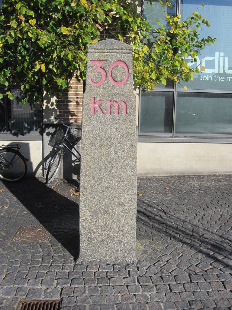 Kilomestersten i Roskilde