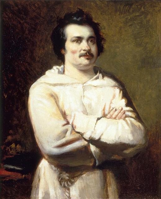 BOULANGER Louis, Portrait de M. de Balzac, 1837