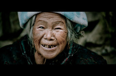 Her eyes have seen the glory (James Yeung) Tags: china old portrait guilin yangshuo elderly cinematic guangxi