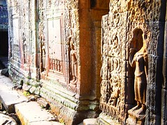 Preah Khan (Angkor Wat, Cambodia 2011) (paularps) Tags: travel holiday nature vakantie asia cambodia flickr khmer culture olympus angkorwat temples siem reap leisure placesofworship angkor 2012 pagodas reizen flickrcom destinations 2011 vakantiefotos adventuretravel arps asiantemples paularps epl1 olympusepl1