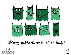 Shaping Entrepreneurs (Babson College) Tags: entrepreneurship startup babson gapingvoid familybusiness hughmacleod socialinnovation entrepreneurialthoughtandaction highimpactgrowth