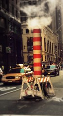 The City Never Sleeps (Dezzie [has been extremely busy] Snaps) Tags: city newyork traffic focalsoften fancyfocus