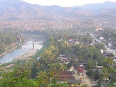 Overview of Luang Phrabang (Laos 2006)