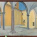 177. Modern Painting of Moorish Court