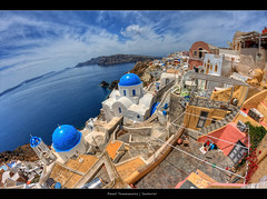 2.2012 - Santorini.1250x825 (Pawel Tomaszewicz) Tags: sky photoshop photomatix wide wideangle wallpaper tomaszewicz pawel paweltomaszewicz ipad eos hdri hdr europe eos400d colors clouds chmury canon angle 3xp 800 1200 1200x800 greece santorini santoryn island greek grecja atlantis fisheye               eye fish cyclades cyklady colours colour color blue bkitne air