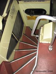 """Berliet PCMR-E """"Double Decker"""" ex 2204 RATP (Musée AMTUIR) 2004 (-Yannewvision-) Tags: old paris france bus london french frankreich interior londres inside publictransport autobus parisian doubledecker ratp intérieur フランス berliet pcm pcmr villedechelles ダブルデッカー pcmre パリの 公共交通機関 バスの 古いバス busàétage yannewvision muséeamtuir altenbus"""