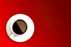 Coffee (Alex_v1.1) Tags: light red white cup coffee nikon coffeecup gradient saucer cupandsaucer d90 flickrchallengegroup flickrchallengewinner thepinnaclehof tphofweek133