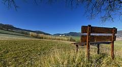 Campagna marchigiana (Crism0n) Tags: bench countryside italia campagna marche panchina cario canoneos60d sigma10201456exdchsm