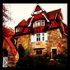 Hessisch Hogwards (volkerazzi) Tags: house architecture germany deutschland hessen potter haus architektur iphone auerbach bensheim hogwards bergstrasse hessischebergstrasse instagram