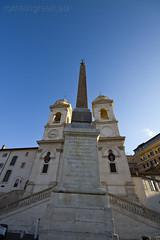 "Trinità dei Monti, obelisco Sallustiano • <a style=""font-size:0.8em;"" href=""http://www.flickr.com/photos/89679026@N00/6703911173/"" target=""_blank"">View on Flickr</a>"