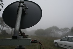 """10 GHz transverter and dish • <a style=""""font-size:0.8em;"""" href=""""http://www.flickr.com/photos/10945956@N02/6704521667/"""" target=""""_blank"""">View on Flickr</a>"""