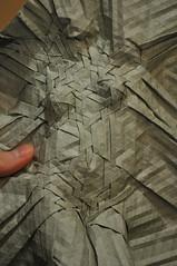 Figure Study- Joel Cooper (blue paper) Tags: art paper design origami joel study cooper figure fold tessellation folding