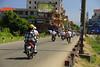Vietnamese Transportation (Matt Champlin) Tags: life people streets canon bikes vietnam hoian busy transportation getty scooters hanoi motos motobikes 2011 steetphotography transportationinvietnam gettyimageswants vietnamesemotobikes