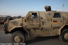 Military vehicle (randbild) Tags: camp afghanistan soldier war krieg vehicle soldiers rc armored base dingo soldat soldaten bundeswehr militaryvehicle mazaresharif mazarisharif isaf armorplated sttzpunkt geschtzt feldlager marmal gepanzert campmarmal regionalcommandnorth feldlagermarmal