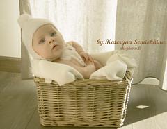 Juliette 8 (KatKatusha) Tags: baby girl 4months bb fille juliette bb nouveaun