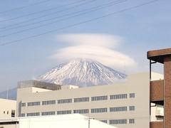 富士山 (帽子付)の写真
