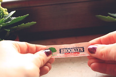 its not a chewing gum its a sign (Vegas Mellor) Tags: light plant sign brooklyn polish nails chewinggum vegasmellor