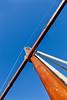 Mastil (69º EXPLORE 20-01-2012) (Jose Casielles) Tags: color luz diagonal palos yecla cuerdas mastil aparejo cruceta fotografíasjcasielles