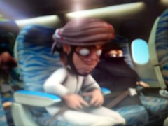(Mink) Tags: airplane fly dubai dress traditional uae cartoon flight safety arab instructions    batoula
