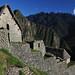 Vedo le prime costruzioni di Machu Picchu
