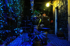 Inside Pan De Amerikana at Night (joelCgarcia) Tags: longexposure wide sb600 flares cls d300 pandeamerikana 1685mmf3556gvr