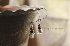 Striving to Live an Artful Life (jpbeth) Tags: beth jewelry simplicity earrings january2012 kimklassen 6wordmemoirs studio907 beyondlayers