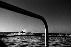 Avalon Beach, Sydney. (foig) Tags: street film beach swimming trix sydney surfing avalon