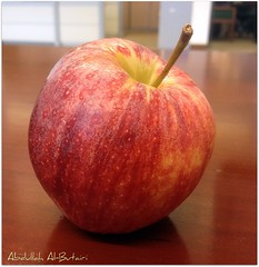 (Abdullah Al-Butairi) Tags: red apple