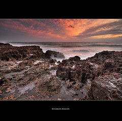 Blowing Rock Preserve, Florida. (Shobeir) Tags: ocean seascape rock sunrise florida wave wideangle atlantic jupiter blowingrock southflorida sigma1020 blowingrockpreserve shobeiransari