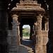 View back to Sabha Mandap from Garbhagriha at Surya Mandir, Modhera