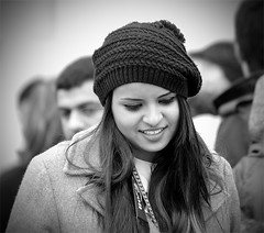 Candid Street Portrait Photography (Loc BROHARD) Tags: street portrait woman girl face hat photography women candid streetphotography