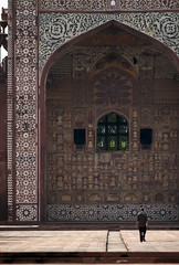 Akbar's Tomb, Agra, India (rahul737) Tags: travel india monument asia agra landmark mausoleum mughal akhbar
